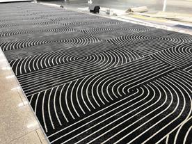 Коммерческое ковровое покрытие